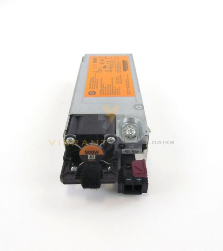 Plug Power Stock Quote: HP 754382-001 800W Flex Slot Hot-Plug DC Power Supply Unit