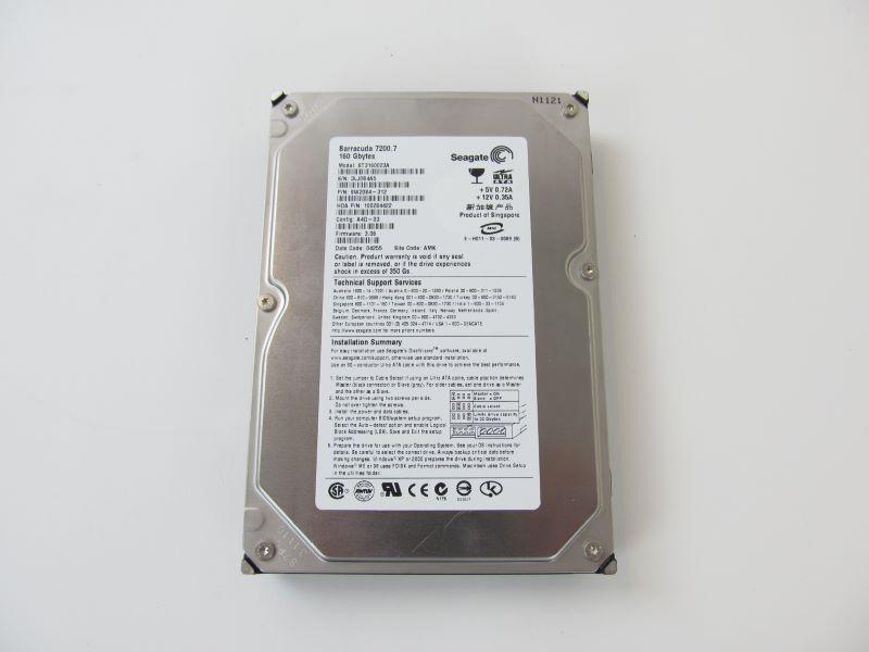 Seagate Barracuda ST3160023A 160GB 7.2K 3.5